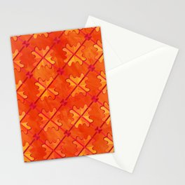 Sagittarius pattern Stationery Cards
