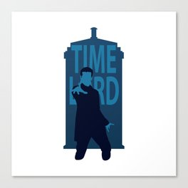 Twelfth Time Lord Canvas Print