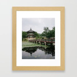 Pavilion of Far-Reaching Fragrance Framed Art Print