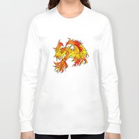 phoenix Long Sleeve T-shirts featuring Phoenix by Rishi Parikh