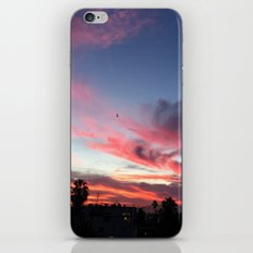 Summer Sunset Sky iPhone & iPod Skin