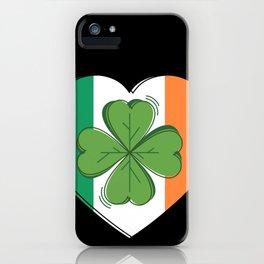 Cool Irish St. Patrick´s Day Ireland March 17th Design iPhone Case