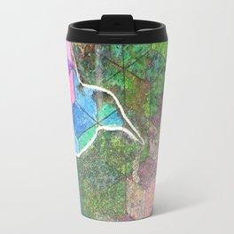Geometric Hummingbirds Travel Mug