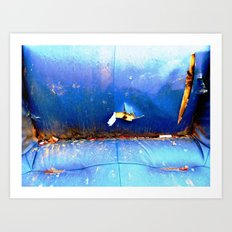 The Day After New Year's Eve Art Print