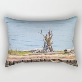 Intertwined Thoughts Rectangular Pillow