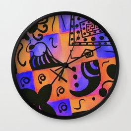 Geometric Fun Wall Clock