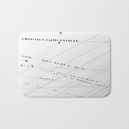 Electrifiying Flock Bath Mat