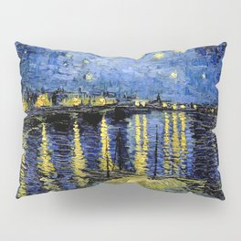 Van Gogh Starry Night Over the Rhône Pillow Sham