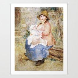 Pierre-Auguste Renoir - Maternity - Digital Remastered Edition Art Print
