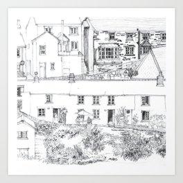 PORTLOE Art Print