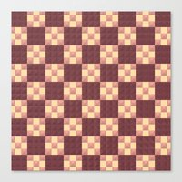 quilt Canvas Prints featuring Quilt by Lyle Hatch