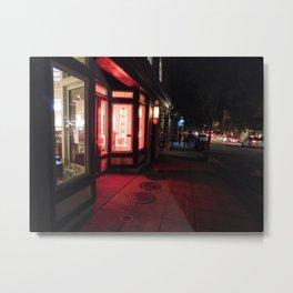 Raleigh Nights 002 Metal Print