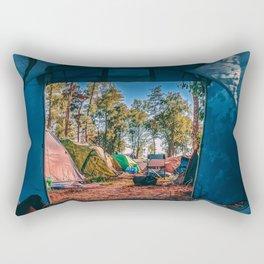 Paradise Awaits (Color) Rectangular Pillow