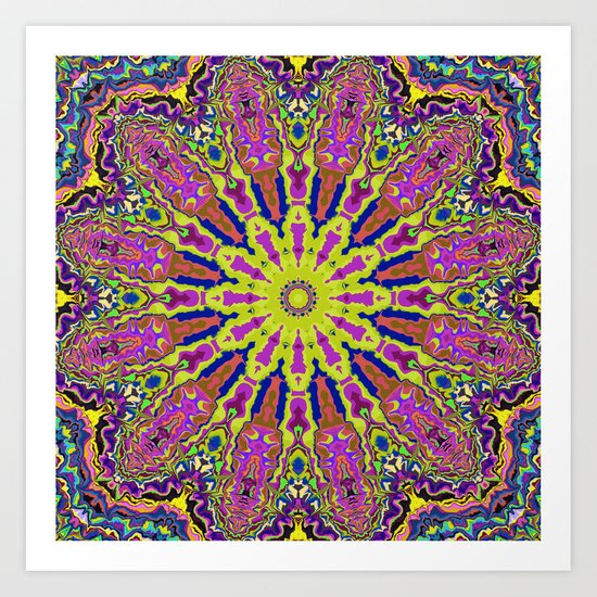 Good Vibrations Art Print