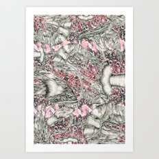 Lobster dynasty  Art Print