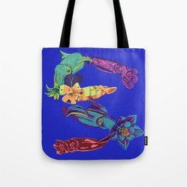 Squid Garden Tote Bag
