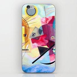 Wassily Kandinsky - Yellow Red Blue iPhone Skin