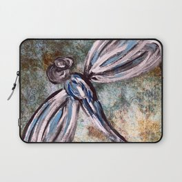 Rustic Dragonfly Art Laptop Sleeve