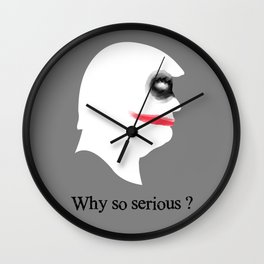 THE JOKER Wall Clock