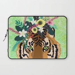 Neon Tiger Laptop Sleeve