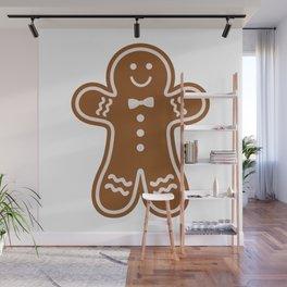 Gingerbread Hugs Wall Mural