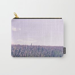 Pink Fields of Lavender Provence France Carry-All Pouch