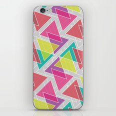 Let's Celebrate The Triangle iPhone Skin