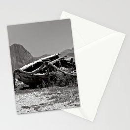 Abandoned Tuna Fisherman Port in Sicily Stationery Cards