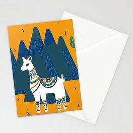 Llama land Stationery Cards