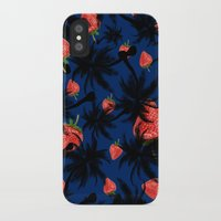 strawberry iPhone & iPod Cases featuring strawberry  by mark ashkenazi