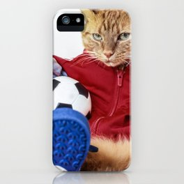 The Cat is #Adidas iPhone Case