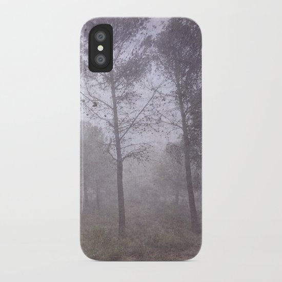 Secret of the misty forest iPhone Case