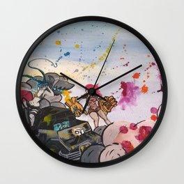 Roadtrip Wall Clock