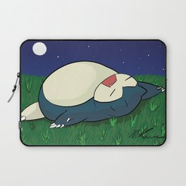 Snorlax Sleeping Laptop Sleeve