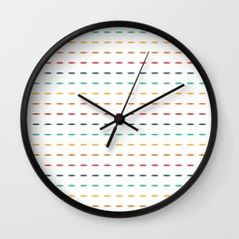 Dashed Wall Clock