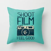 film Throw Pillows featuring Shoot Film by Victor Vercesi