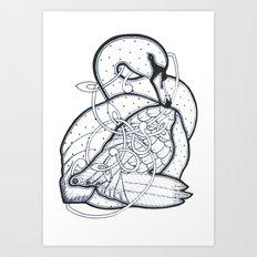 Carrick Swan Art Print