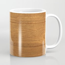 The Cabin Vintage Wood Grain Design Coffee Mug