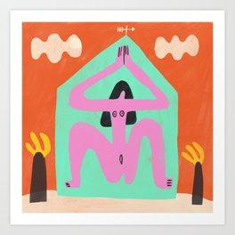 House of Divine Feminine Art Print