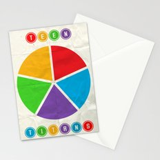 Teen Titans. Stationery Cards