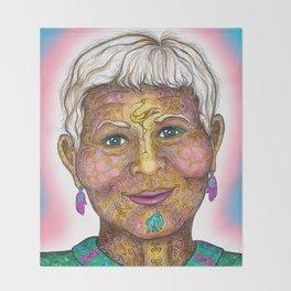 Wisdom Keeper Color #59 (Intimacy) Throw Blanket