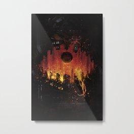 The Core Metal Print