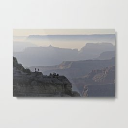 We are small--Grand Canyon, Arizona Metal Print