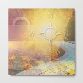 Travelight One Metal Print