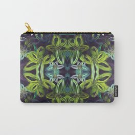 Tropical Greenery Carry-All Pouch