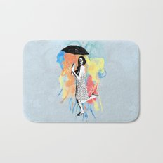 Water Color Bath Mat