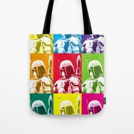 Boba Fett Popart Tote Bag