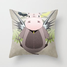 Beyond the Night Throw Pillow