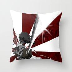 Afro Samurai Throw Pillow