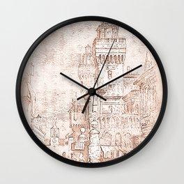 Castello Estense, Ferrara Wall Clock